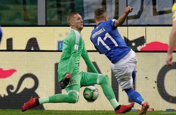 Italia bị loại khỏi VCK World Cup 2018 ảnh 1