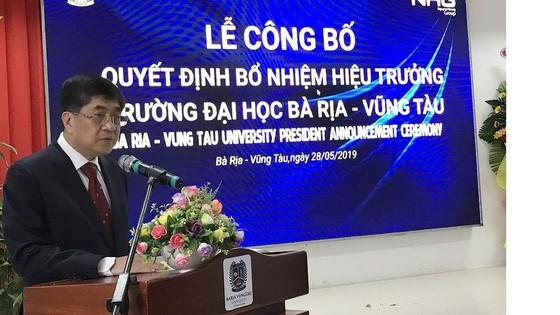GS-TS Nguyễn Lộc được bổ nhiệm giữ chức Hiệu trưởng Trường Đại học Bà Rịa – Vũng Tàu ảnh 1