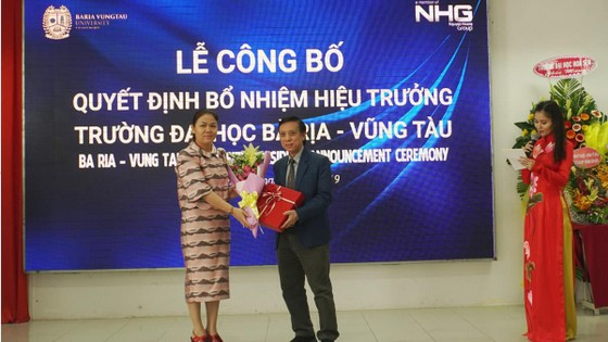 GS-TS Nguyễn Lộc được bổ nhiệm giữ chức Hiệu trưởng Trường Đại học Bà Rịa – Vũng Tàu ảnh 2