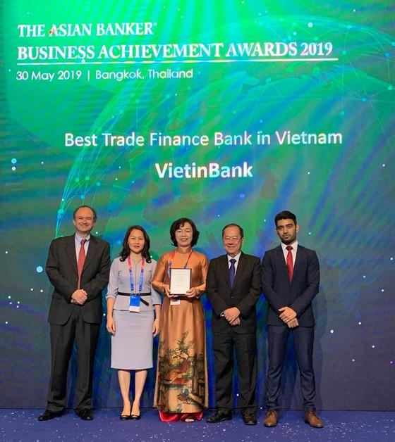 VietinBank ba năm liên tiếp nhận giải thưởng quốc tế về tài trợ thương mại ảnh 1