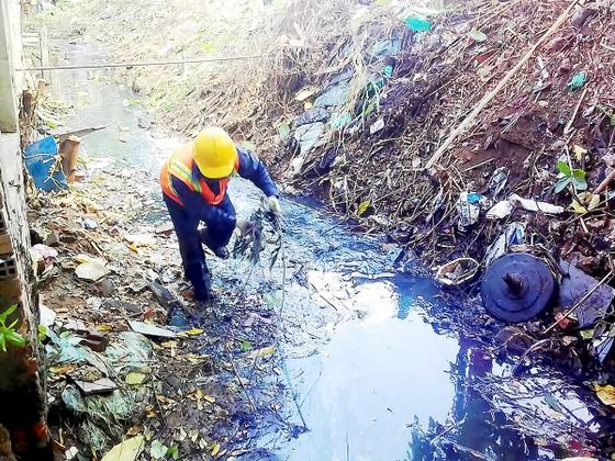 Tập trung giảm ô nhiễm môi trường do nước thải ảnh 1