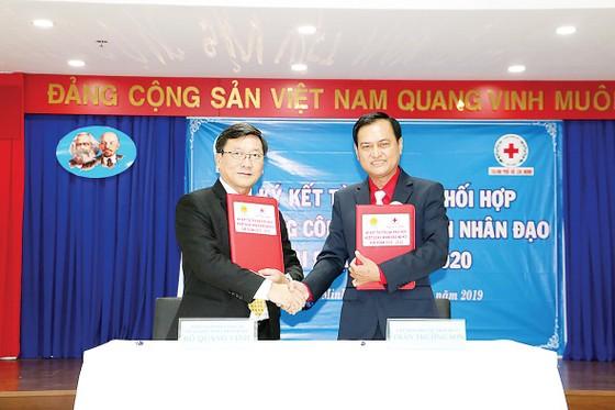 Cty TNHH Một thành viên XSKT TPHCM phối hợp Hội Chữ thập đỏ hoạt động nhân đạo giai đoạn 2019 - 2020 ảnh 1