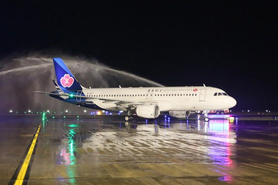 Cảng hàng không quốc tế Vân Đồn đón chuyến bay đầu tiên từ Hồ Nam, Trung Quốc ảnh 1
