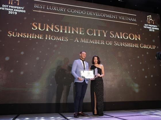 """Tập đoàn Sunshine """"ẵm"""" 5 giải thưởng tại Dot Property VietNam Awards 2019 ảnh 3"""