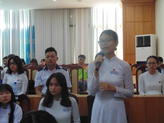 Lãnh đạo Sở GD-ĐT TPHCM đối thoại với 110 học sinh tiêu biểu của thành phố ảnh 2