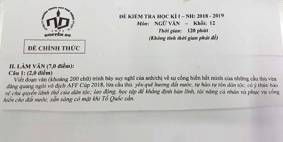 Chiến thắng của đội tuyển Việt Nam tại AFF Cup 2018 vào nhiều đề thi học kỳ 1 ảnh 1