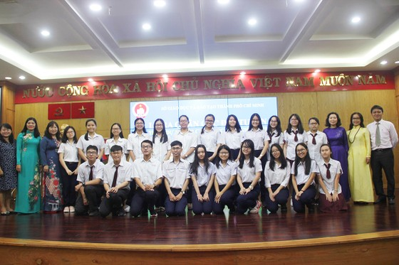 TPHCM: Ra quân 11 đội tuyển tham dự kỳ thi học sinh giỏi cấp quốc gia năm học 2018-2019 ảnh 1