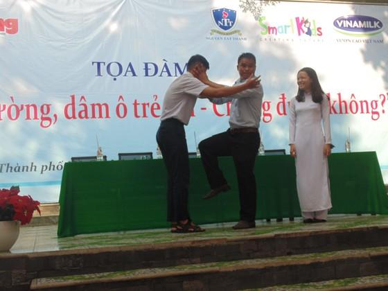Học sinh TPHCM quyết tâm chống bạo lực học đường và dâm ô trẻ em ảnh 3