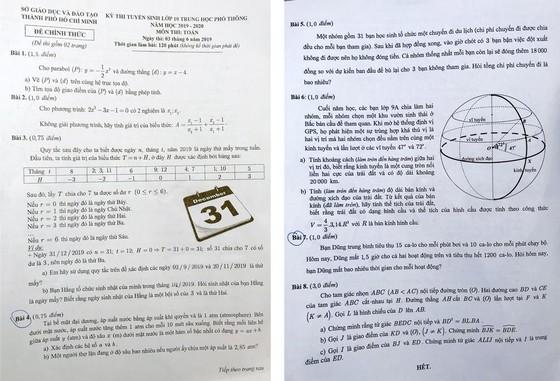 Tuyển sinh lớp 10 ở TPHCM: Đề Toán ''làm khó'' thí sinh ảnh 6