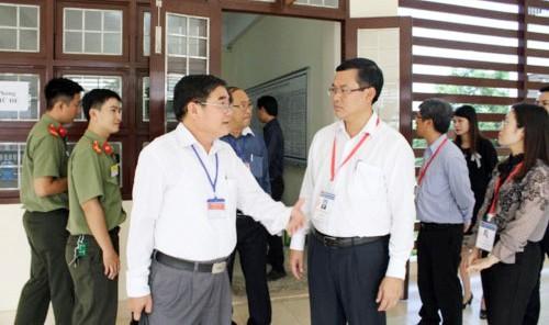 Thứ trưởng Bộ GD-ĐT kiểm tra công tác thi THPT Quốc gia 2019 tại Tiền Giang ảnh 1