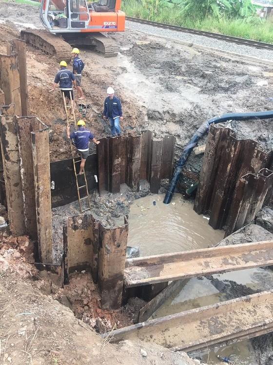 5 quận tại TPHCM bị cúp nước để khắc phục sự cố ảnh 1