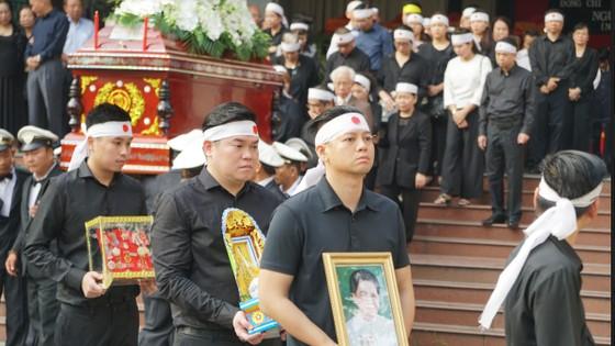 Lễ an táng đồng chí Nguyễn Thị Vân ảnh 2