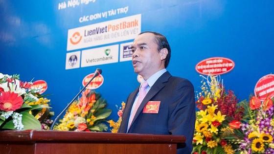 Ông Nguyễn Đồng Tiến làm Chủ tịch Liên đoàn cờ nhiệm kỳ 6. Ảnh: NGỌC HẢI