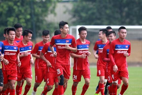 U22 Việt Nam có 28 cầu thủ tập trung. tác giả: NGỌC HẢI