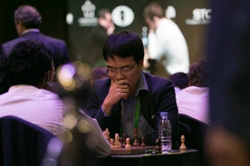 Quang Liêm vừa dự giải cờ nhanh, cờ chớp VĐTG 2017. Nguồn: FIDE