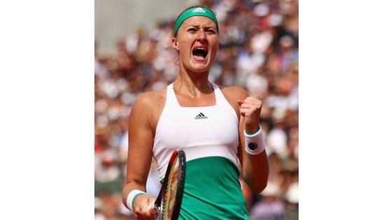 Niềm vui chiến thắng của Kristina Mladenovic
