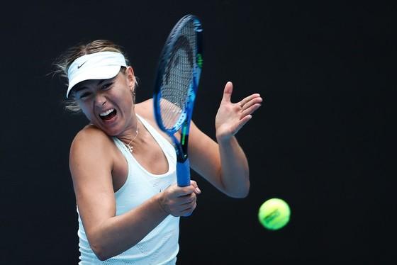 Maria Sharapova bất lực trong trận thua Halep