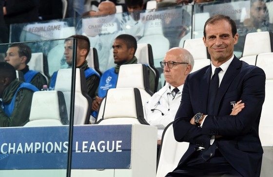 HLV Max Allegri của Juventus. Ảnh: Getty Images.
