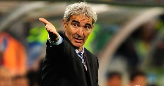 Raymond Domenech dẫn dắt tuyển Pháp ở World Cup 2006. Ảnh: Getty Images.