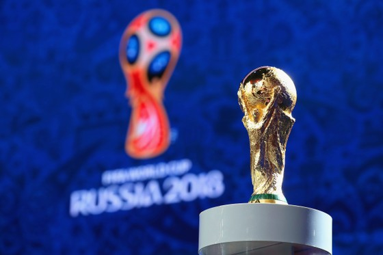 Nước Nga đã sẵn sàng cho Lễ bốc thăm World Cup 2018. Ảnh: Getty Images.