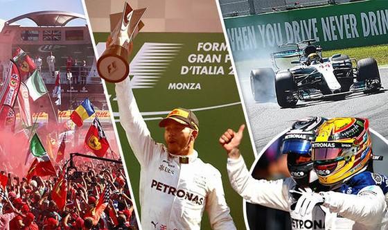 Hamilton lật thế cờ giành chiến thắng ở Italian Grand Prix tại Milan