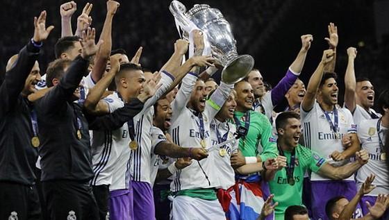 Real Madrid bảo vệ thành công ngôi vô địch Champions League. Ảnh: Daily Mail
