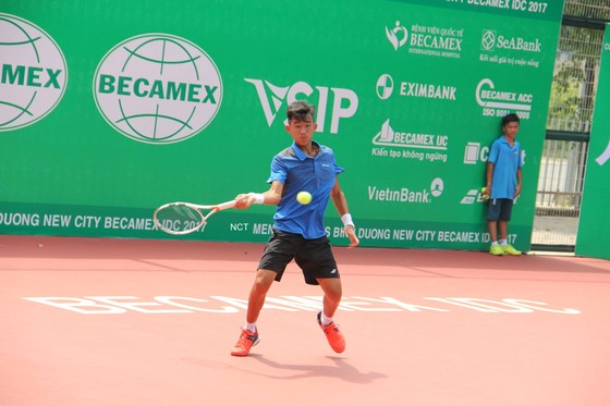 Tay vợt trẻ nhiều triển vọng Nguyễn Văn Phương