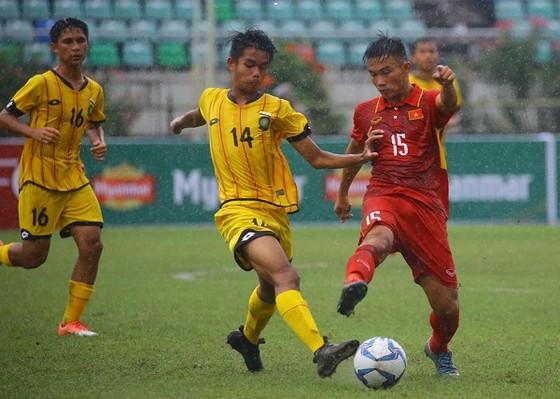 Đội U18 Việt Nam đã giành chiến thắng dễ dàng trước Brunei (ảnh: VFF)