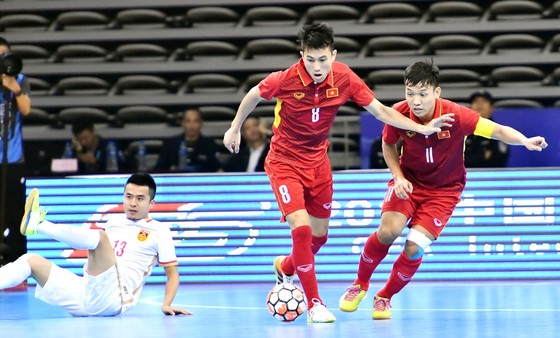ĐT Việt Nam giành chiến thắng 4-3 trước đội chủ nhà Trung Quốc. Ảnh: ANH TRẦN