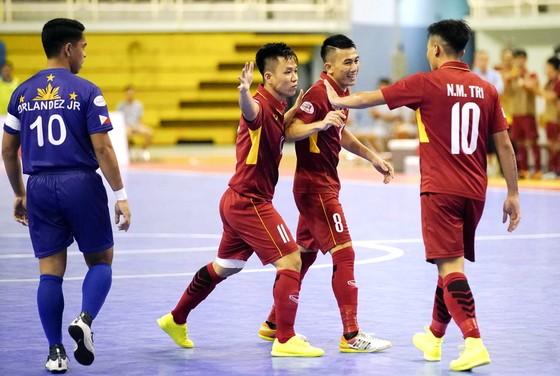 Đội Việt Nam đã có chiến thắng kỷ lục trước Philippines. Ảnh: DŨNG PHƯƠNG