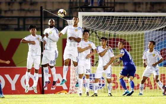 Đội Quảng Nam đang đến gần với cơ hội lần đầu tiên giành ngôi vô địch V-League. Ảnh: DŨNG PHƯƠNG