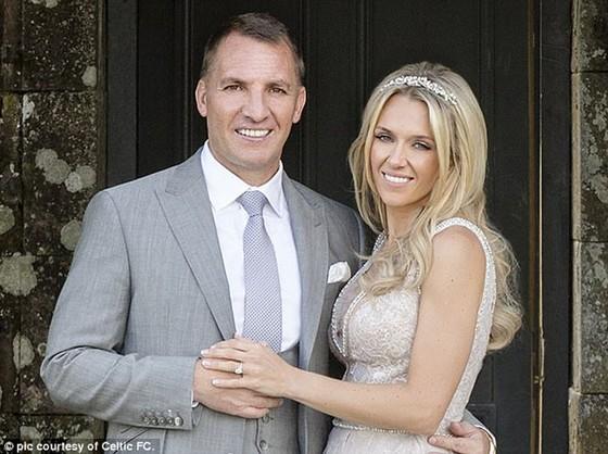 Đám cưới lãng mạn của Rodgers.