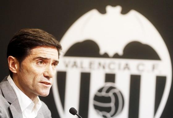 HLV Marcelino đặt mục tiêu giành danh hiệu với Valencia.