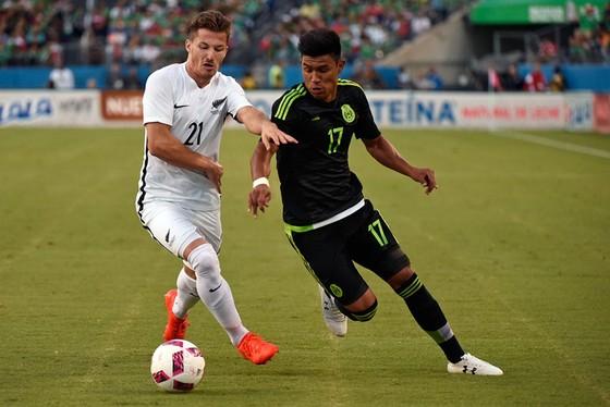 Mexico (phải) dư khả năng đánh bại New Zealand.