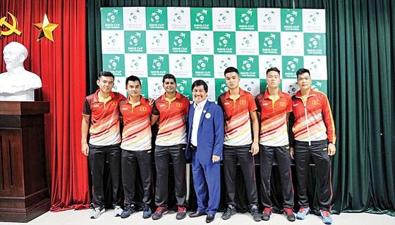 Quần vợt Việt Nam đang nỗ lực tìm kiếm vị thế mới ở đấu trường quốc tế  Ảnh: DŨNG PHƯƠNG