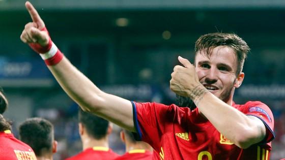 Saul đang thi đấu ấn tượng ở U-21 châu Âu