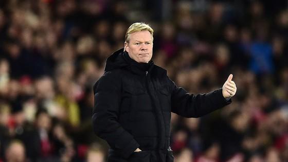 HLV Ronald Koeman không giấu giếm tham vọng đưa Everton vươn cao.