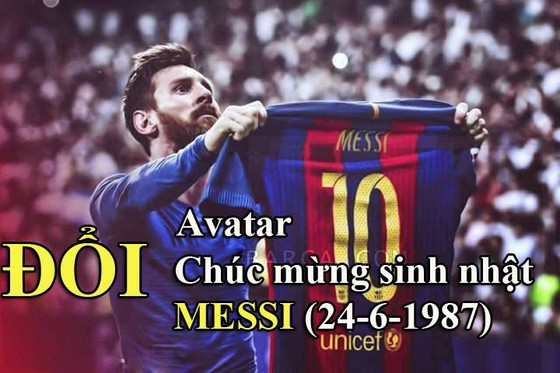 Cảm ơn Chúa đã mang Messi tới thế giới bóng đá