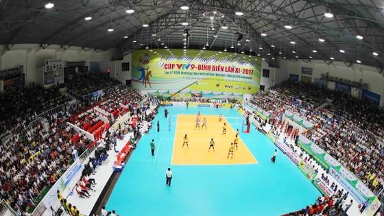 Nhà thi đấu tỉnh Tây Ninh sẽ đăng cai vòng 2 giải VĐQG 2017.   Ảnh: Dũng Phương