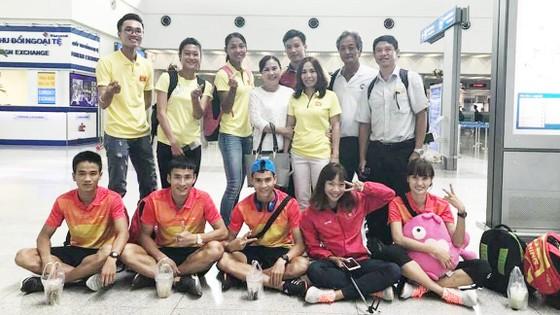 Đội tuyển điền kinh Việt Nam dự giải Thái Lan mở rộng 2017                                                                                          Ảnh: HÀ HƯNG