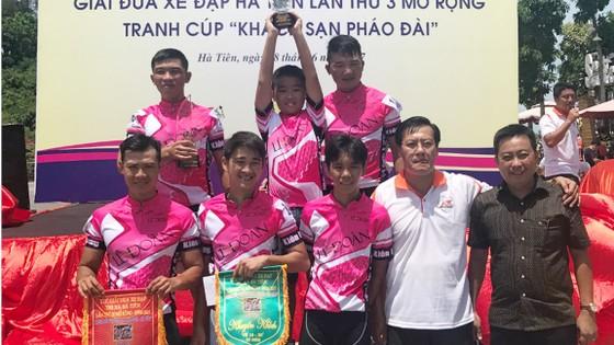 Các tay đua Kiên Giang thâu tóm nhiều danh hiệu.