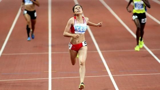 Nguyễn Thị Huyền là gương mặt nổi bật của thể thao Nam Định. Ảnh: T.L