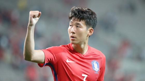 Son Heung-min cùng tuyển Hàn Quốc chính thức giành vé dự World Cup 2018
