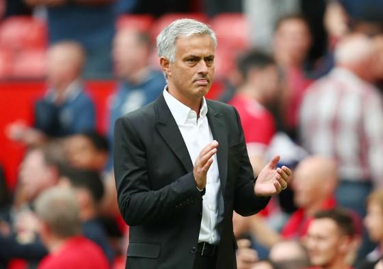 Jose Mourinho khẳng định hài lòng về sự tiến bộ của Man.United. Ảnh: Getty Images