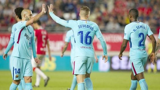 Barca có chiến thắng dễ trước Real Murcia. Ảnh: Getty Images