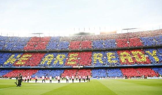 Sân Camp Nou có thể đổi tên vào đầu năm 2018. Ảnh: Getty Images