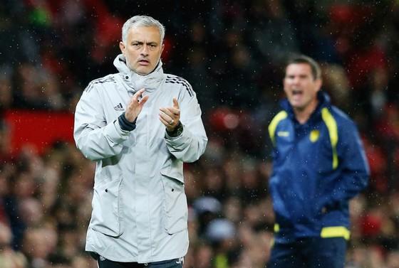 Jose Mourinho tin tưởng các cầu thủ của ông sẽ chiến đấu trước Tottenham. Ảnh: Getty Images