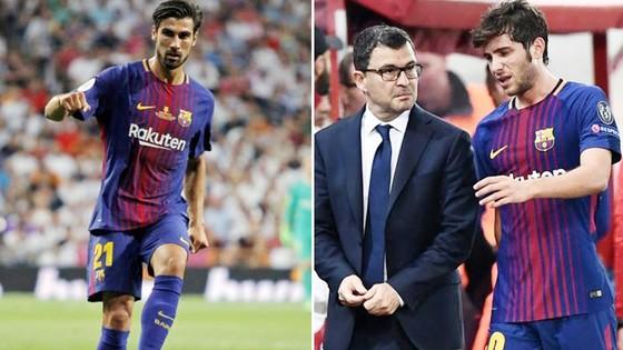 Gomes (trái) và Roberto lần lượt dính chấn thương. Ảnh Marca.