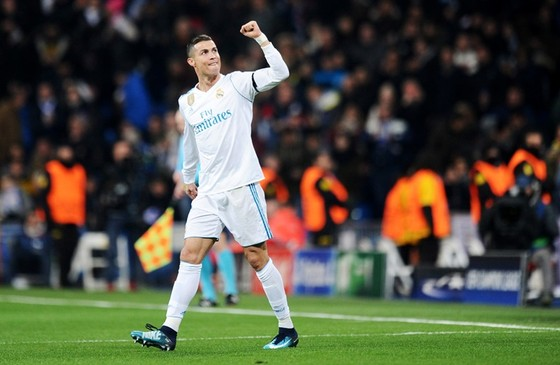 Ronaldo có năm 2017 đầy thành công. Ảnh: Getty Images