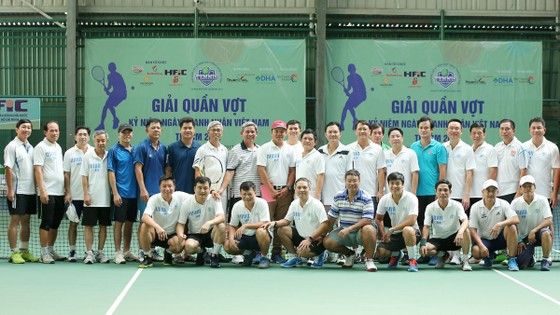 Giải Quần vợt kỷ niệm ngày doanh nhân Việt Nam năm 2017